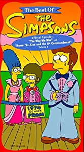 The Best of The Simpsons, Vol. 8 - The Way We Was/ Homer Vs. Lisa and the 8th Commandment [VHS]