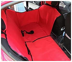 Seven Top Dual-use Cradle Dog Car Rear Back Seat Cover Pet Mat Hammock Cushion Protector