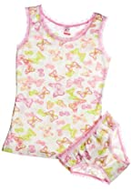 Kid U Not Girls Butterfly Print Panty and Tank Set. (5/6)