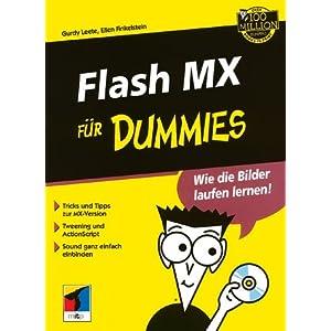 eBook Cover für  Flash MX f uuml r Dummies Fur Dummies