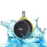 Abusun Bluetooth スピーカー 防塵·防水スピーカー 高音質 音楽再生 ハンズフリー通話可能 iPhone iPod notePC Smartphone MP3Player等Bluetooth機器の対応 (ブラック)