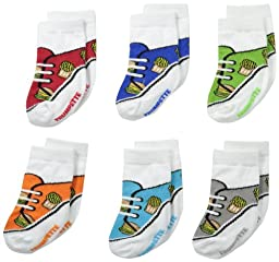 Trumpette Baby-Boys 6 Pack Newborn Brody, Assorted, Infant