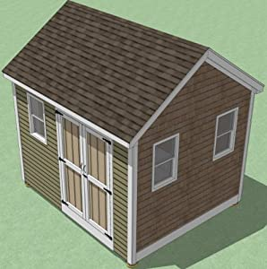 Storage Shed Plans 10X12