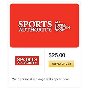 Sports Authority Gift Cards - E-mail Delivery