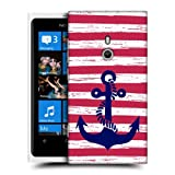 Head Case Designs Stripe Anchored Hard Back Case Cover For Nokia Lumia 800
