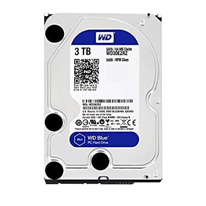 Blue (WD30EZRZ) 3TB Internal Hard Drive