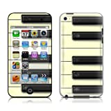Apple iPod Touch 4th gen skin - Piano Keys Concerto - High quality precision engineered skin sticker wrap for the iPod Touch 4 / 4G (8gb / 16gb / 32gb / 64gb) launched in 2010 / 2011