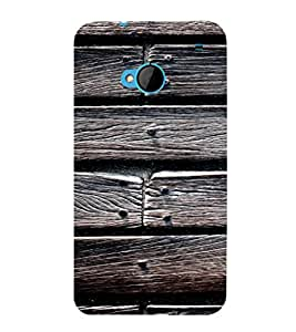 EPICCASE Woody Mobile Back Case Cover For HTC One M7 (Designer Case)