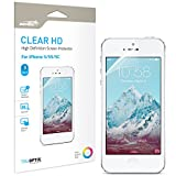 Iphone 5 5s 5c Screen Protector Sentey® Clear Hd Economy Pack (Pack of 3) Ls-14131 Maximum Clarity and Touchscreen Accuracy {Lifetime Warranty}