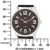 U.S. Polo Assn. Men's US5166 Brown Dial Brown Crocodile Strap Watch