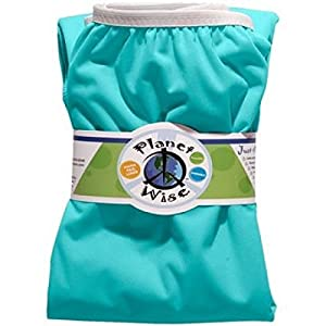 Planet Wise Reusable Diaper Pail Liner, Seaspray