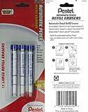 Pentel(R) Quicker Clicker™ Eraser Refills, Pack Of 15