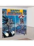 batman scene setters® wall dec. kit