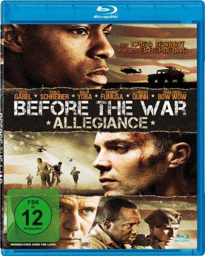 Before the War - Allegiance [Blu-ray]