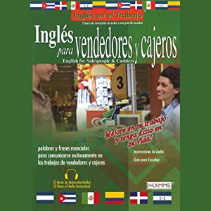 Ingles para Vendedores y Cajeros (Texto Completo) [English for Salespeople & Cashiers] Audiobook