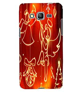 ColourCraft Angel Pattern Design Back Case Cover for SAMSUNG GALAXY GRAND PRIME G530H