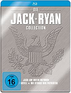 Jack Ryan Collection (3 Discs, Steelbook) [Blu-ray]