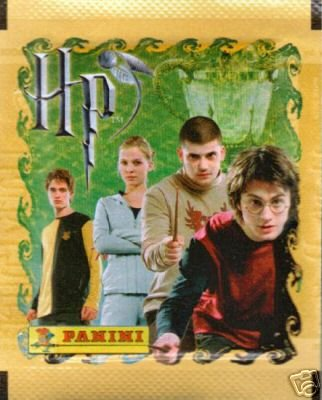 Harry Potter Goblet of Fire Panini Sticker Pack (One Single Pack of 5 Stickers, Each Pack Varies)