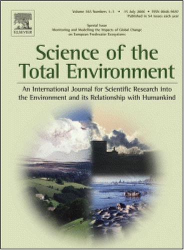 Occurrence of antibiotics in hospital, residential, and dairy effluent, [An article from: Science of the Total Environment, The]