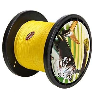 500m 037mm 40lb Polyethylene Fiber Braided Fishing Line Spool by Crazy Cart