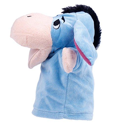 Bigood-Kid-Plush-Velour-Hand-Puppets-Farm-Animals-Zoo-Learning-Aid