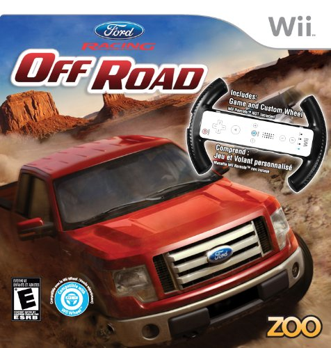 Ford Racing Off Road Bundle with Wheel (Mario Kart Wii Custom Tracks compare prices)