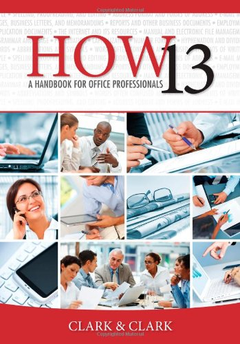 HOW 13: A Handbook for Office Professionals (How (Handbook for Office Workers)) (How 13 compare prices)