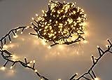 LED Lichterkette mit 1000 LED - EXTRA warmweiß - mit...