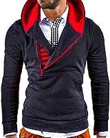 MT Styles Kapuzenpullover mit Zipper Hoodie Pullover S-111