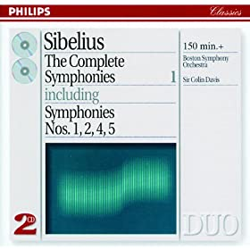 Sibelius: The Complete Symphonies, Vol.1