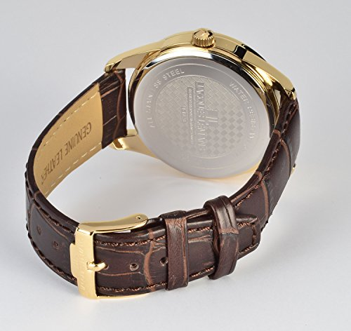 a2da6c169aff Jacques Lemans Liverpool - Reloj de pulsera analógico para mujer cuarzo  piel 1 - 1828 C