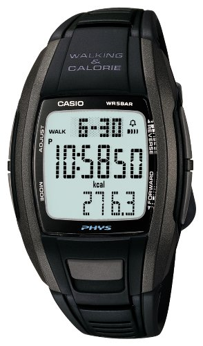 [カシオ]CASIO 腕時計 PHYS フィズ WALKING & CARORIE STP-100J-1JF