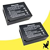 Two Halcyon 1800 mAH Lithium Ion Replacement Battery for Fujifilm NP-W126 and Fujifilm X-E1, X-Pro1, Finepix HS30EXR, HS33EXR Digital Cameras