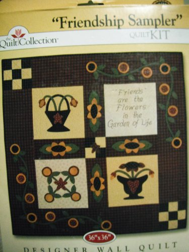 The Quilt Collection Friendship Sampler Quilt Kit