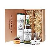 """Laphroaig 10 - Genie�er-Set - Geschenkideevon """"Schottischer Whisky Shop"""""""
