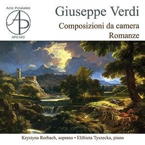 Guiseppe Verdi - Composizioni da camera: Romanze - Amazon.com Music