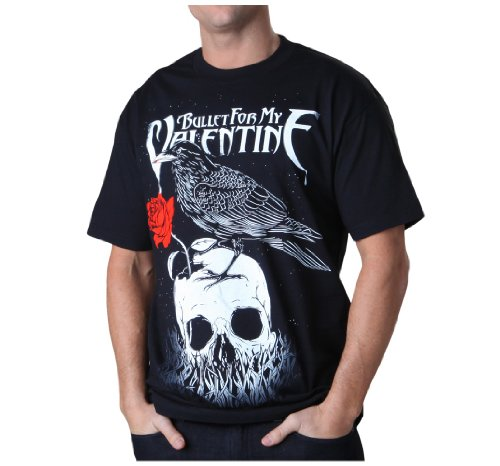 Bravado Merchandising Bullet For My Valentine Raven T-Shirt Black