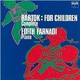 バルトーク:子どものために ピアノ小曲集Vol.1&Vol.2
