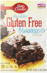 Betty Crocker Brownie Mix, Gluten Free, 16 Oz