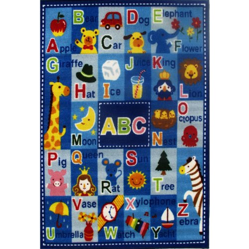 Letters & Names ABC's Area Rug 39