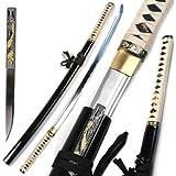 Ace Martial Arts Supply Handmade Zetsurin Sharp Samurai Katana Sword - MUSHA
