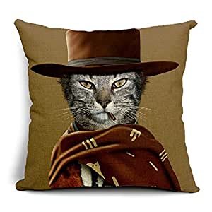 Decorative Western Throw Pillows : Amazon.com - Animal Stars Western Cowboy Throw Pillow Case Couch Beds Cushion Cover Decorative ...