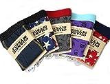 【CH】 メンズ ボクサー パンツ ブリーフ 下着 5枚 セット カラフル かわいい 20 カラー バリエーション M L LL 大きい サイズ (M)
