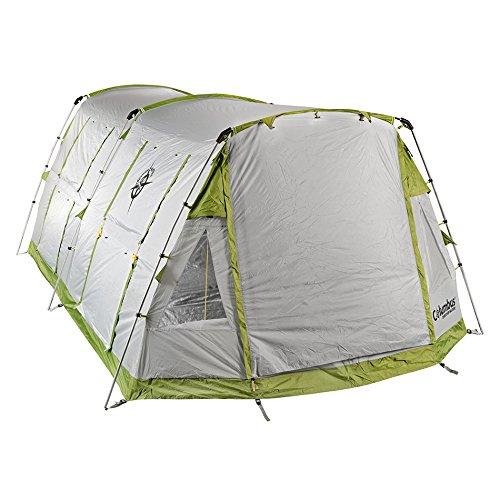 Columbus Tenda da Campeggio Twister 6 Verde/Grigio Unica