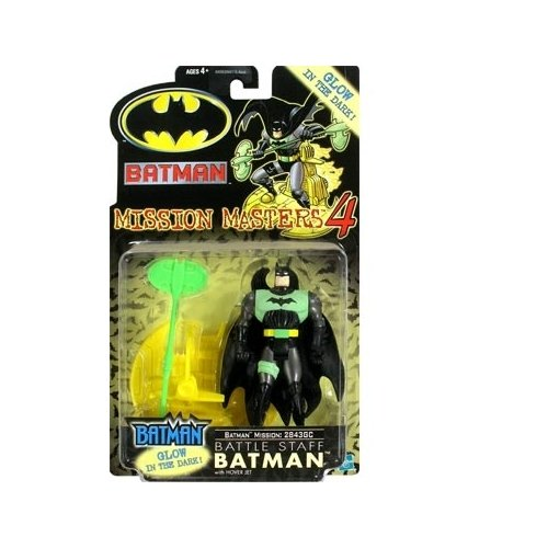 Batman: The New Batman Adventures Mission Masters 4 Battle Staff Batman Action Figure