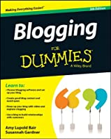 Blogging For Dummies, 5th Edition Front Cover