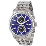 Reloj Invicta 0251 II Collection para hombre, acero inoxidable, dial azul.