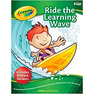 Crayola Early Learning Skill Workbook Ride The Learning Wave
