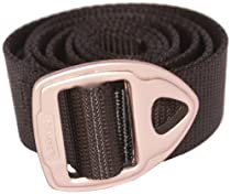 Bison Designs 30mm wide Danger Belt with Gunmetal Buckle (Black, 38-Inch Maximum Waist/Medium)