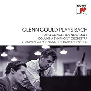 Plays Bach: Piano Concertos Nos 1-5